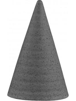 Kähler Glasurtop Nistret grå 11 cm.-20