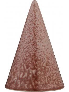 Kähler Glasurtop Nistret rød 15 cm.-20