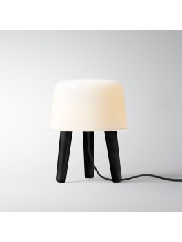andtradition Milk bordlampe Smoked oiled legs and black cord-20