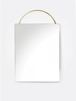 Ferm Living Adorn mirror Face, messing-20