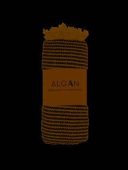 Algan Elmas-iki Hamamhåndklæde Sort-20
