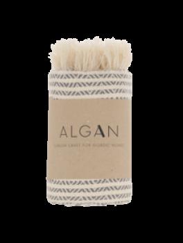 Algan Elmas Iki gæstehåndklæde i grå-20