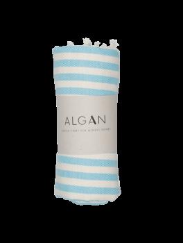 Algan Kuvun Hamamhåndklæde Lyseblå-20