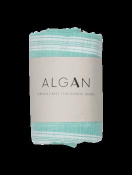 Algan Sade Hamamhåndklæde Mørk Mint-20
