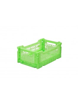 Aykasa Mini Foldekasse flourecent green-20