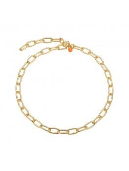 Enamel Copenhagen Armbånd, chain link Guld-20