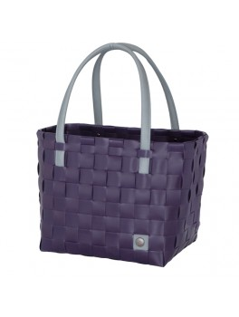 Handed By Color Block shopper Aubergine H27XB31XD24-20