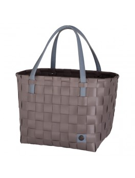 Handed By Color Block shopper Stone Brown H27XB31XD24-20
