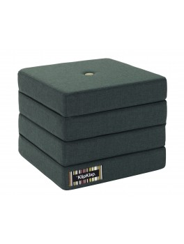 By Klipklap KK 4fold (Deep Green 920 w. light green buttons). Varierende levering.-20