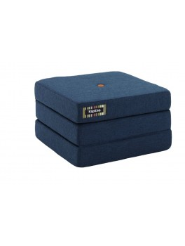 By Klipklap KK 3fold single (Dark Blue 90 w. orange buttons). Varierende levering.-20