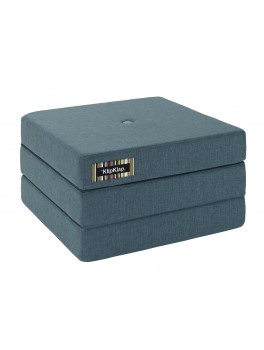 By Klipklap KK 3fold single (Dusty Blue 940 w. blue buttons). Varierende levering.-20
