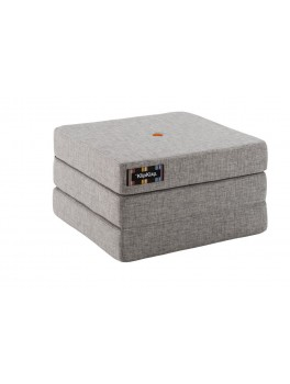 By Klipklap KK 3fold single (Multi Grey 520 w. orange buttons). Varierende levering.-20
