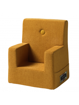 By Klipklap KK Kids Chair Mustrad with mustard buttons.-20