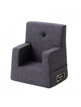 By Klipklap KK Kids Chair (Blue Grey 510 w. grey buttons)-20