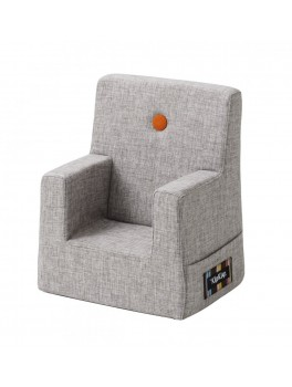 By Klipklap KK Kids Chair (Multi Grey 520 w. orange buttons)-20