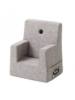 By Klipklap KK Kids Chair (Multi Grey 520 w. grey buttons)-20