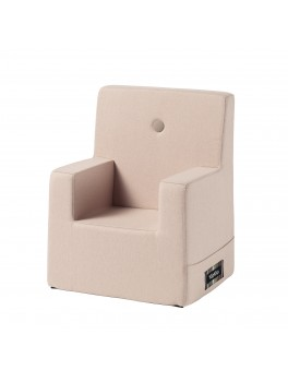 By Klipklap KK Kids Chair XL (Soft Rose 11395B w. rose buttons)-20