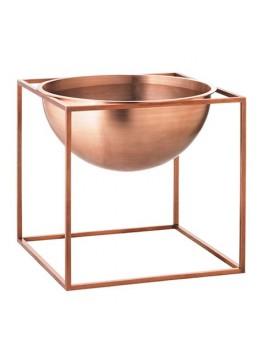 By Lassen Kubus Bowl Stor (Kobber)-20