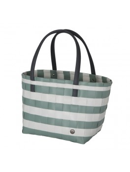 Handed By Color Block Vintage Shopper Greyish green H27XB31XD24-20