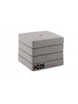 By Klipklap KK 4fold (Multi Grey 520 w. orange buttons). Varierende levering.-20