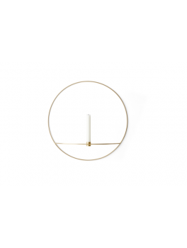 Menu Pov Circle candleholder Messing, Large-20