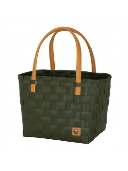 Handed By Color Block shopper Hunting Green H27XB31XD24-20