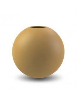 Cooee Ball Vase ochre 20 cm-20