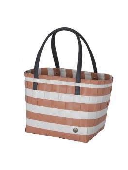 Handed By Color Block Vintage Shopper Copper Blush H27XB31XD24-20
