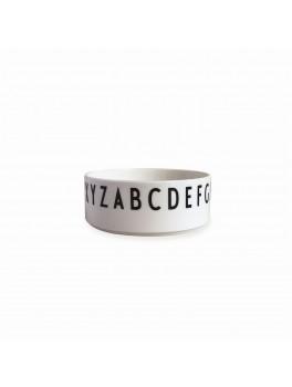 Design Letters - Skål Porcelæn hvid