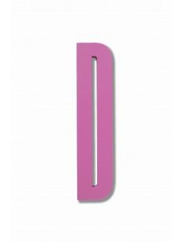 Design Letters - Bogstaver D - Pink