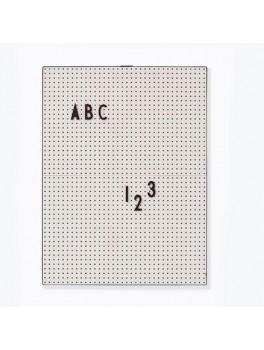 Design Letters Message board grey-20