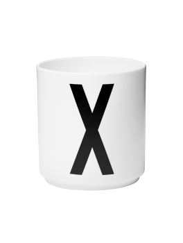 Design Letters Porcelæn krus X-20