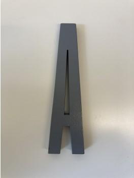 Design Letters - Bogstaver - A - Grå