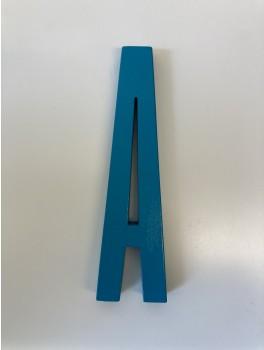 Design Letters - Bogstaver - A - Turkis