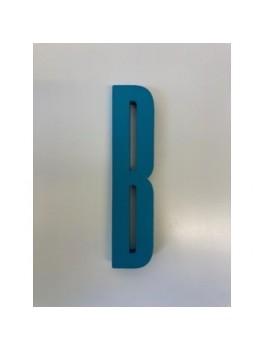Design Letters - Bogstav - B - Turkis