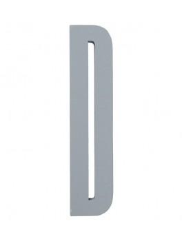 Design Letters - Bogstav - D - Grå