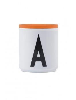 Design Letters - Låg t. porcelænskop - Orange