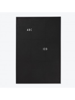Design Letters - Message board A2 - Black