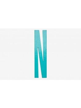 Design Letters - Bogstav - N - Turkis