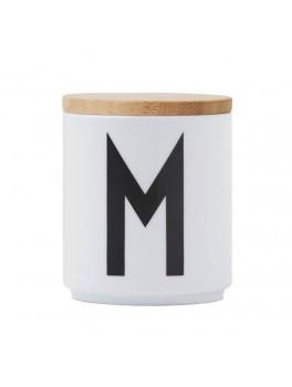 Design Letters - Låg t. porcelænskop - Træ