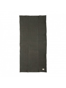 Ferm Living Organic Bath Towel Dark grey-20