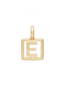 Enamel Letter Guld E-20