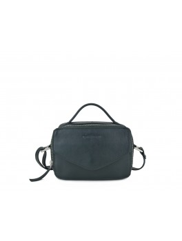 Daniel Silfen Emma Taske Dark green leather-20
