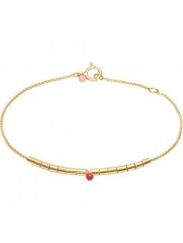 Enamel Bracelet, Beaded Delicate-20