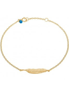Enamel Bracelet, feather-20