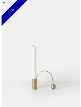 Ferm Living Balance Candle Holder Messing-20