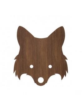 Ferm Living - Fox Lamp - Smoked Oak