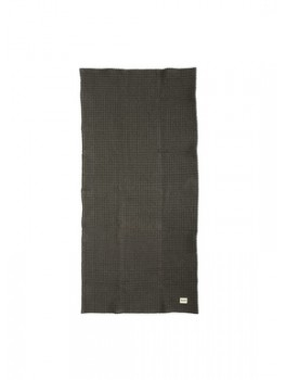 Ferm Living Organic Hand Towel Dark grey-20
