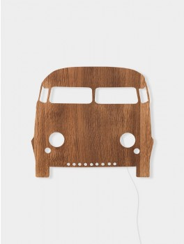 Ferm Living Car lamp smoked oak-20