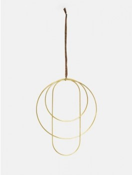 Ferm Living Deco Frame messing-20